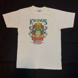 1989 Vintage single stitch germany tee tshirt